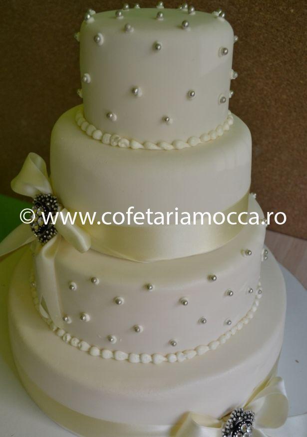 Tort De Nunta Elegant Cod 018 Nm Cofetăria Sweet Mocca Oradea