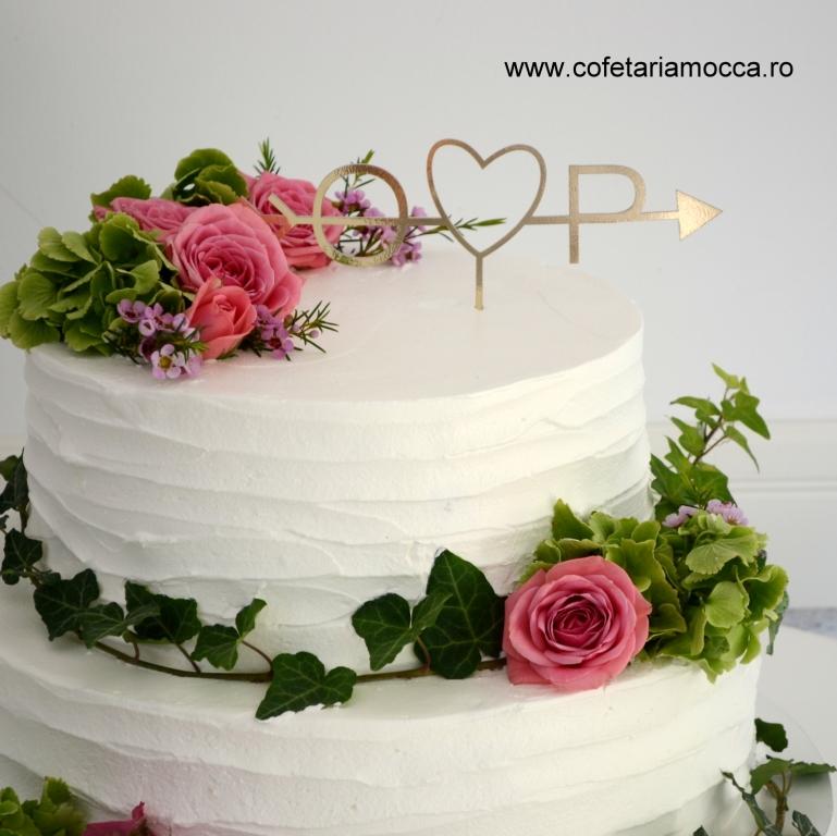 Tort De Nunta In Stil Boem Cod 022 Nfr Cofetăria Sweet Mocca Oradea