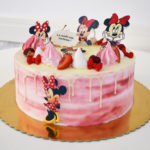 tort Minnie Mouse roz degrade 01