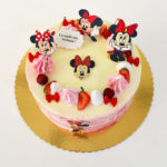 tort Minnie Mouse roz degrade 02