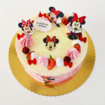 tort Minnie Mouse roz degrade 03