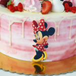 tort Minnie Mouse roz degrade 08
